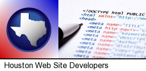 web site HTML code in Houston, TX