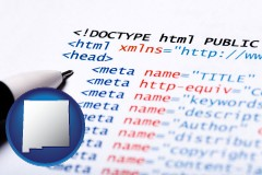 nm web site HTML code
