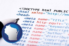 wi web site HTML code